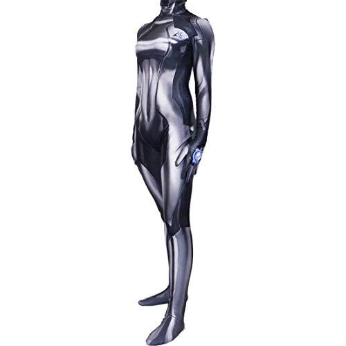 Aesthetic Cosplay Black Zero Suit Samus Cosplay-Kostüm, Samus-Kostüm, Größe (Mädchen Cosplay Kostüm Der Comic Con)