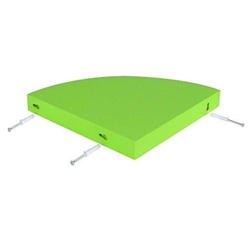 eckregal h ngeregal wandregal cd dvd regal freischwebend aus holz mdf 35x35cm rg9241br smash. Black Bedroom Furniture Sets. Home Design Ideas
