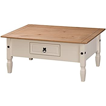 mercers furniture corona painted coffee table cream. Black Bedroom Furniture Sets. Home Design Ideas