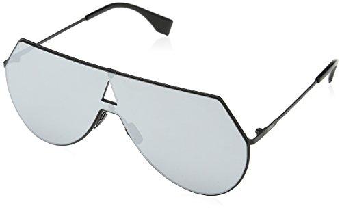 Fendi Damen FF 0193/S DC 003 Sonnenbrille, Schwarz (Matt Black/Extra White Marl), 99