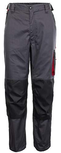 Brandsseller Arbeitshose Arbeitskleidung Arbeits-Bundhose Lang Anthrazit/Schwarz XL/56