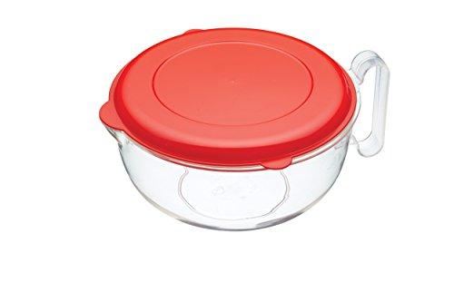 Kitchen Craft Messbecher mit Deckel, für Mikrowelle (Mikrowelle Karaffe)