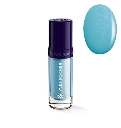 Yves Rocher COULEURS NATURE Nagellack COULEUR VÉGÉTALE 61 Bleu Nigelle, langanhaltend & pflegend, 1 x Flacon 5 ml