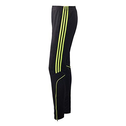 Herren Sweatpants Jogginghose - hibote Männer Fitnesshose Trainingshose Fußball Hose Laufhose Jogger Pants Fitness Gym Sport Streetwear (Seite Abnehmen Zip-hose)