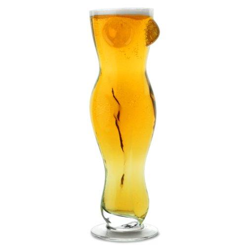 Bierglas Frauenkörper 0,5 Liter für stilvollen Genuß