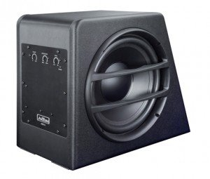 Axton AXB25A - AXTON Compact Subwoofer 25cm mit Amplifier 25 Subwoofer