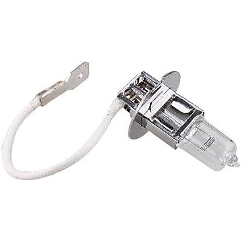 LIROOTAuto lampadina della luce antinebbia (H3, 55W, bianco) - 55w Luce Singola
