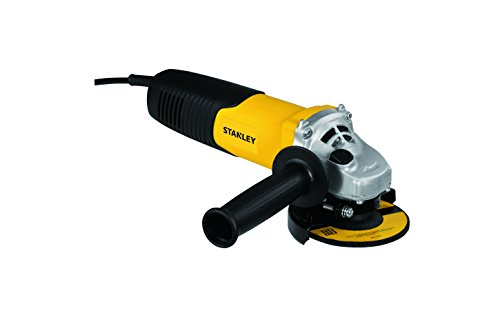Stanley 900-Watt 100mm Small Angle Grinder (Yellow and Black)