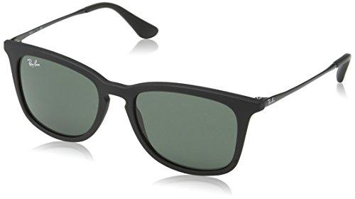 Ray-Ban Unisex Sonnenbrille RJ9063S, (Gestell: Schwarz, Gläser: Grün Klassisch 700571), Medium (Herstellergröße: 48)