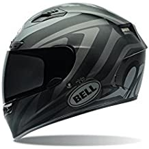 Bell Power Sports Qualifier DLX Moto Casco, color Impulse Negro, talla XXL