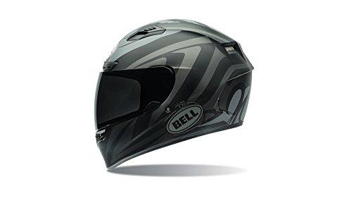 Bell Power Sports Qualifier DLX Moto Casco, color Impulse Negro, talla L