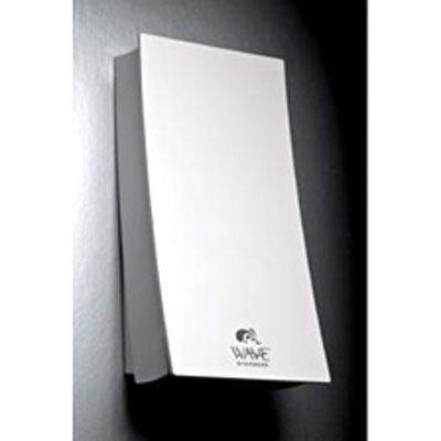Aviva Wave wall mounted soap dispenser - Ivory White