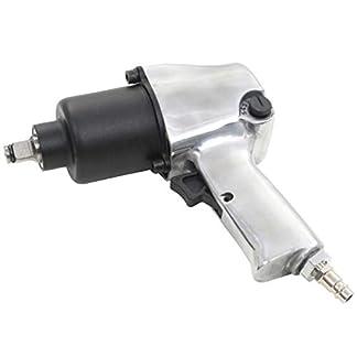 vidaXL Llave Impacto Neumática Metal 1/2″ 680 NM Pistola Atornillado Trinquete