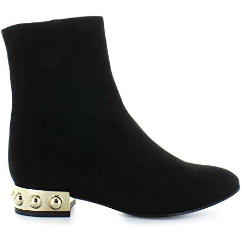 MARC 2019 ELLIS Chaussures Femme Bottines Suède Noir Automne-Hiver 2019 MARC - B07KCPBR64 - e6404a