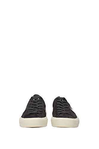 116J0974TCRUGIS Tom Ford Sneakers Homme Chamois Gris Gris