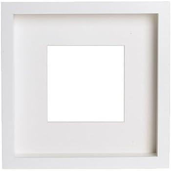 Ribba Cadre Blanc 23 X 23 X 4 5 Cm