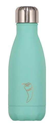 Botella Chilly's Verde Pastel de 260ml.