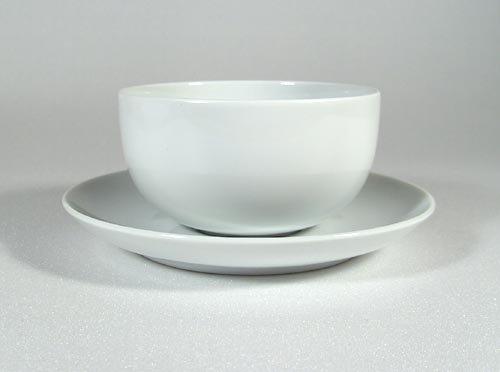 19600-serie (Rosenthal - Moon Sauciere 2-tlg. Weiss - rund - 450 ml)