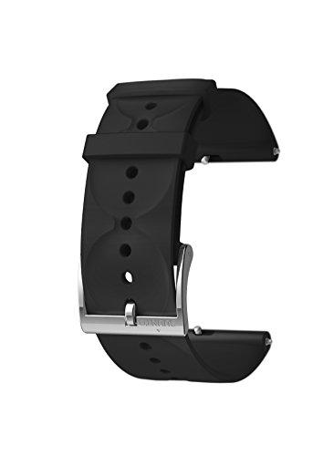 Suunto 3 Fitness Ersatzarmband, schwarz/silber