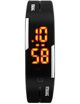 TTLIFE 1099 Unisex Frauen Sport Uhren Female Digital Outdoor-Armbanduhr Wasserdicht