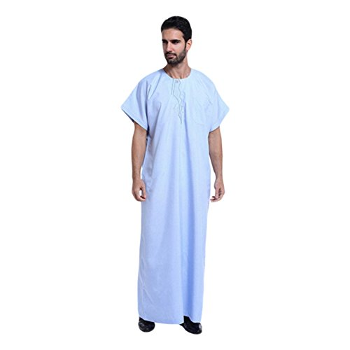 Dishdasha Kostüm (Hzjundasi Herren Muslim Kostüme Kleidungsstück Thobe Robe Kurta)