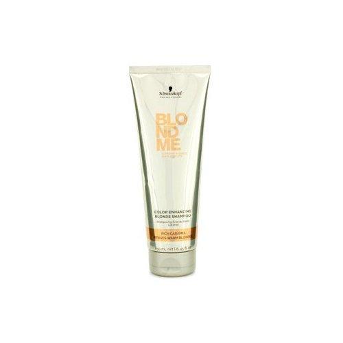 Schwarzkopf BlondMe Color Enhancing Blonde Shampoo Rich Caramel 250 ml - Color Enhancing Shampoo