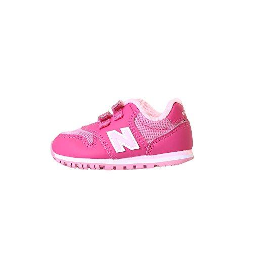 Balance New Schuhe Infant (NEW BALANCE - Pink und rosa Sportschuh 500 infant, aus Synthetik und Mikrofaser, mit Klettverschluss, seitlich, hinten, Mädchen-27,5)