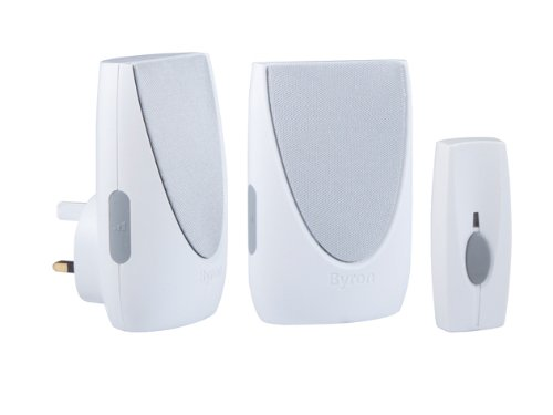 byron-sentry-by212-100m-wireless-portable-and-plug-in-door-chime-kit-with-6-sounds