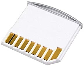 SEJM Micro SD TF to SD Card Mini Adaptor for Apple Macbook (White)