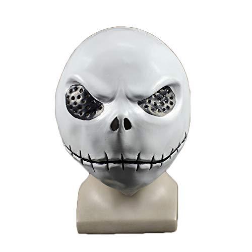 Maske YN Luxus Neuheit Scary Doll Jack Devil Gimmick Horror Latex