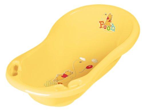 Set de 6 Winnie Pooh amarillo Bañera XXL 100 cm + Asiento para baño + Orinal + Asiento WC + Taburete + Contendedor para pañales Nuevo