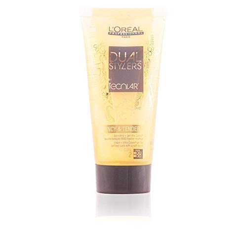 Styling Lockiges Haar (L'Oréal Professionnel TecniART Dual Stylers Bouncy and Tender, 1er Pack, (1x 150 ml))