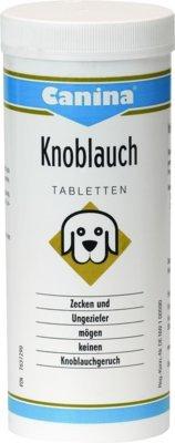 CANINA Knoblauch Tabletten f.Hunde 140 St Tabletten