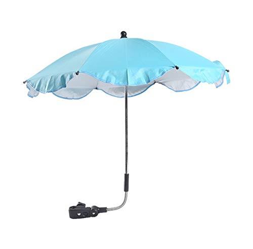 HDWY Abnehmbare Freie Anpassung Sonnenschirm Sonnenschutz Schirm Effektive Barriere Ultraviolettes Licht Installieren Eine Vielzahl von Anwendungen,Bluish