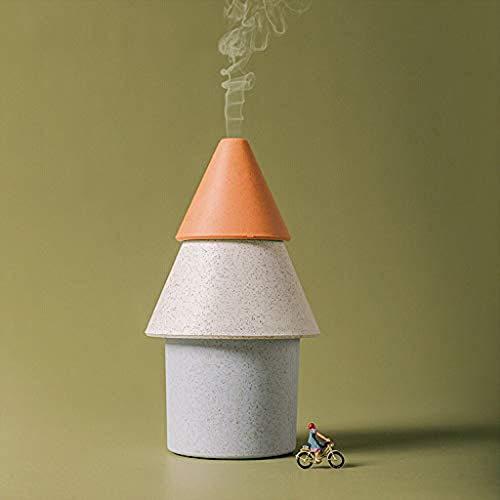Wasser, Orange Zerstäuber (Kühler Nebel-Luftbefeuchter Ultraschallaroma-ätherisches Öl-Diffusor Diffusor Aromatherapie Aroma Diffuser,Mini Home USB Luftbefeuchter Luftreiniger Zerstäuber Luftreiniger Diffusor,Orange)