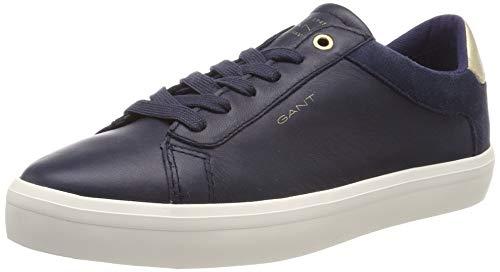 GANT Footwear Damen Baltimore Sneaker, Blau (Marine G69), 39 EU -