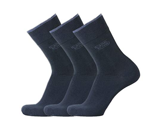 Basic Socks 3er dark navy 43-46