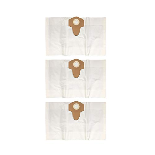 Feinstaubfilterbeutel 3er-Pack je 30 L (2-lagiger Microfilter-Vlies,weiß) für Parkside LIDL Nass-Trockensauger PNTS 1500 D5 - LIDL IAN 304887