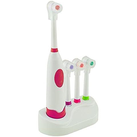 Denshine Cepillo De Dientes Electrico Automatico Cuidado Bucal Con 3 Kit De Repuesto De La Cabeza Del Cepillo