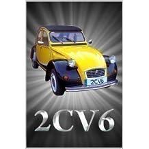 Citroen 2CV6 Coche Clásico Jumbo Imán De Nevera