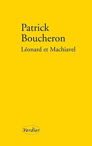 leonard-et-machiavel-litt-francaise-french-edition