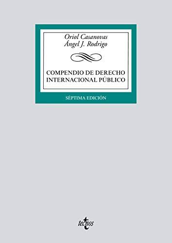 Compendio de Derecho Internacional Público (Derecho - Biblioteca Universitaria De Editorial Tecnos)