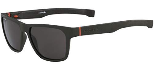 Lacoste l869s 317 57, occhiali da sole uomo, verde (matte khaki)