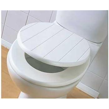 cream plastic toilet seat. TOILET SEAT TONGUE  GROOVE WOOD PANEL WHITE CREAM WOODEN