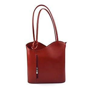 Damen tasche handtasche rot ledertasche damen ledertasche schultertasche leder tasche henkeltasche umhängetasche