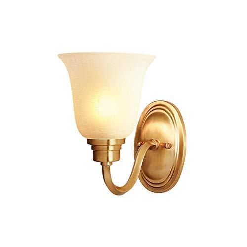 Wandleuchte LED Wandlampe Innen Modern Up and Down Wand Beleuchtung,aus Aluminium Glas Hardware Wandleuchten,für Treppenhaus Flur Theater Studio, Warmweiß /Keine Lichtquelle