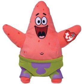 Patrick Star - Ty Beanie Baby