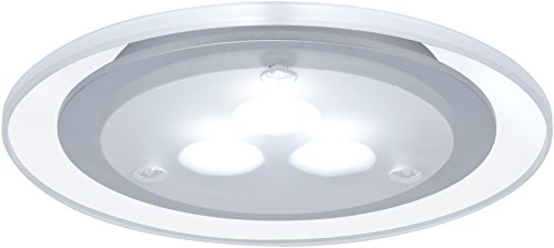 Paulmann 98352 Möbel EBL Set Deco LED 3x3W 12VA 230V/350mA 100mm Chrom matt/Acryl/Metall