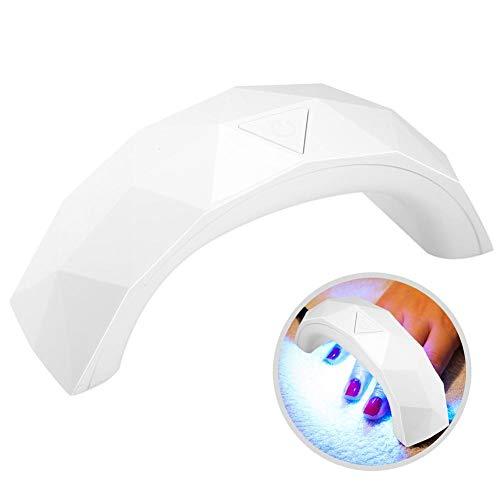 Semme 9W LED Mini lampe à ongles, séchage UV de vernis à ongles en gel de calage UV des années 60