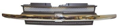 griglia-radiatore-grigio-scuro-con-modanatura-cromata-per-chevrolet-daewoo-trailblazer-mod-01-02-